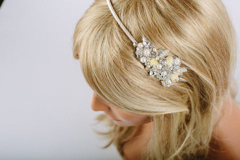 Lilly - Headband - Silver