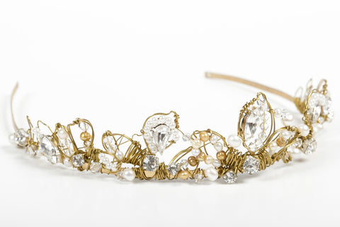 Jayne - Headband - Gold