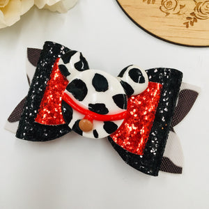 Dalmation Clay bow