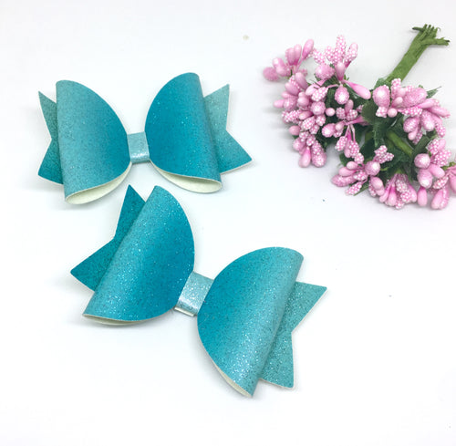 Basic Teal Bow