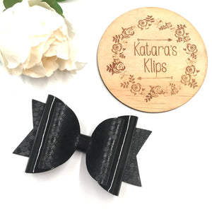 Black Dolly Bow