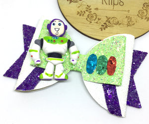 Deluxe Toy Story Buzz Clay bow