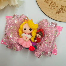 Load image into Gallery viewer, Princess Aurora Clay bow