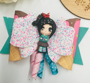 Deluxe Vanellope Clay bow