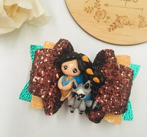 Princess Pocahontas Clay bow