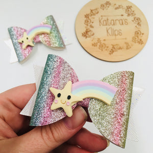 Clay Star Rainbow bow