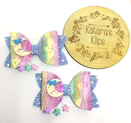 Rainbow Moon Bow