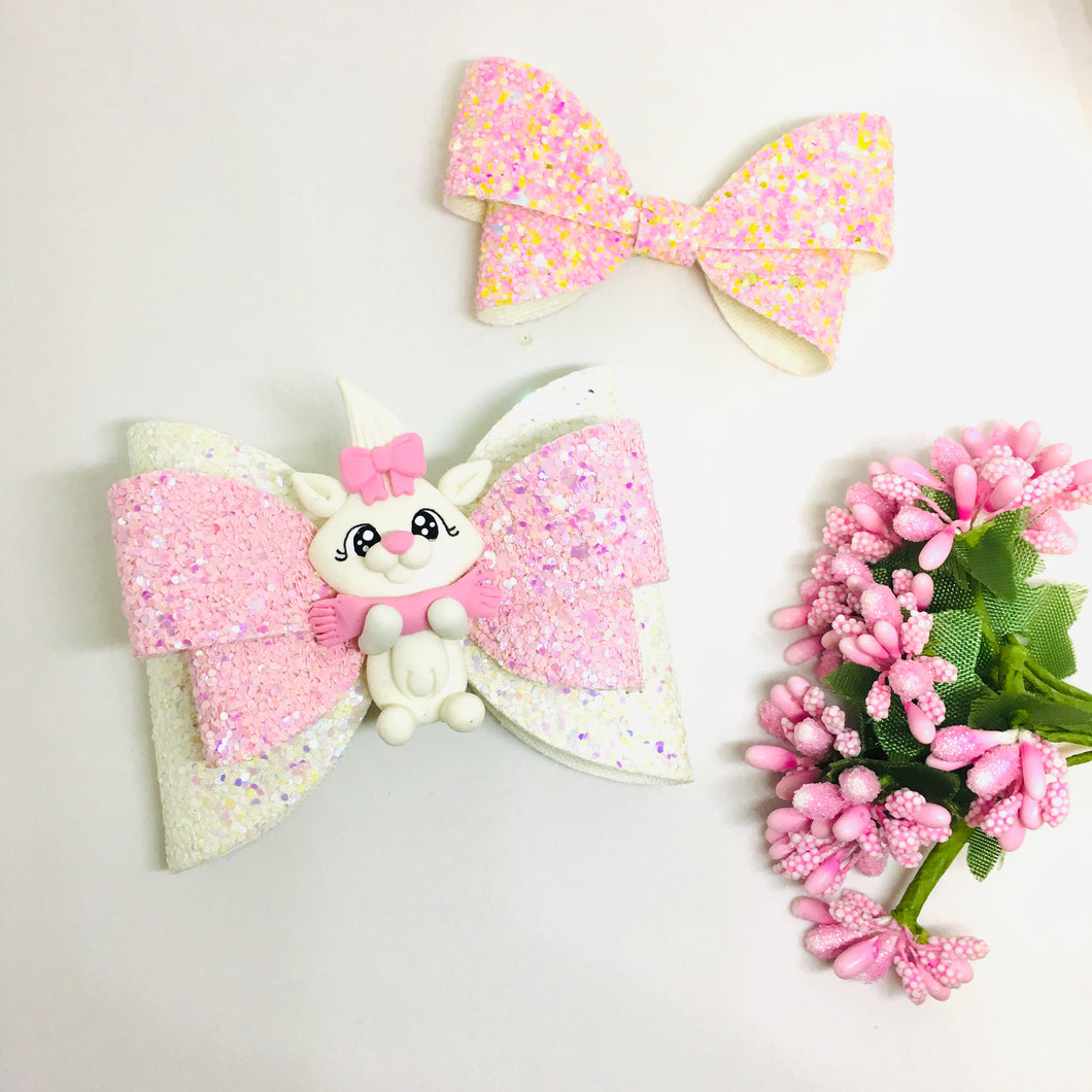 Clay Marie Cat bow