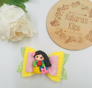 Princess Mulan Clay bow
