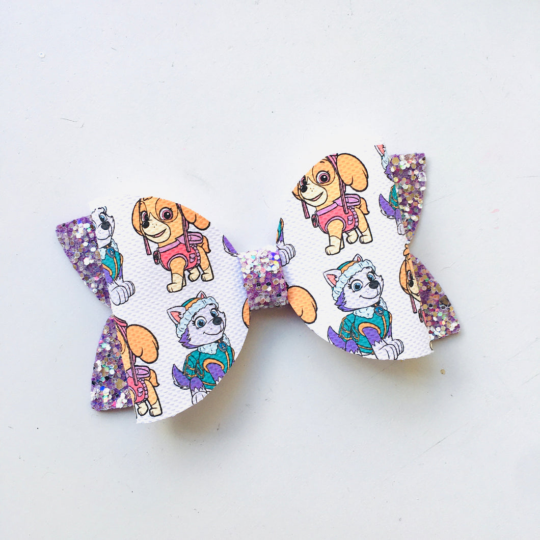 Basic Skye Everest Paw Patrol Bow