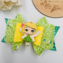 Load image into Gallery viewer, Deluxe Tinkerbell Clay bow