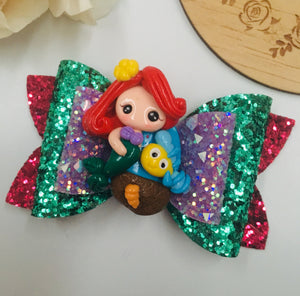 Princess Ariel Clay bow