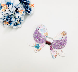 Lily Mermaid Scale bow