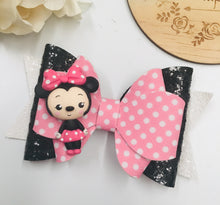 Load image into Gallery viewer, Deluxe Minnie Mouse Clay bow