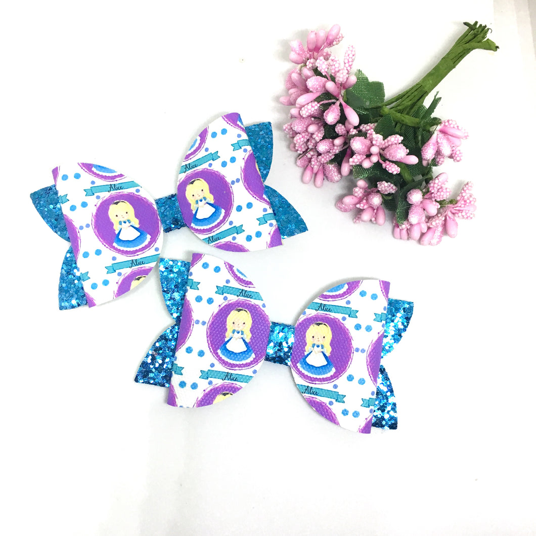 Alice Wonderland Bow