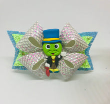 Load image into Gallery viewer, Jiminy Cricket clay Bow