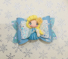 Load image into Gallery viewer, Princess Elsa Clay bow