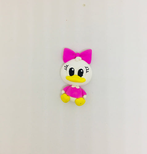 Choose your - Girl duck Clay - Bow design
