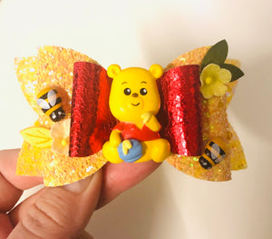 Winnie the Pooh Clay bow