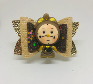 Cogsworth Clock Belle clay Bow