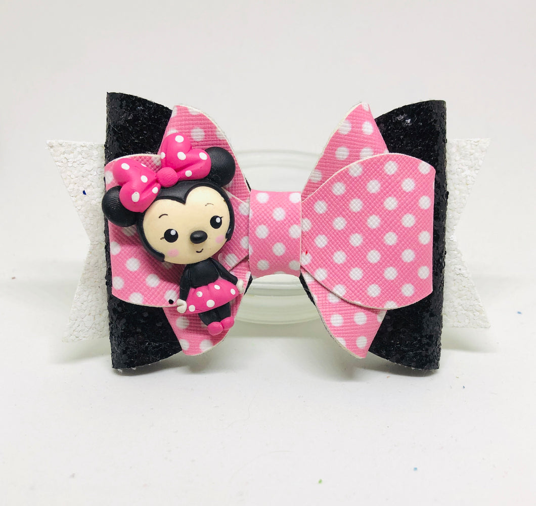 Deluxe Minnie Mouse Clay bow