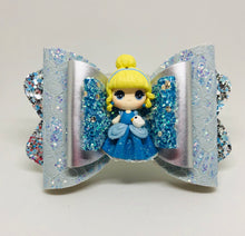 Load image into Gallery viewer, Deluxe Cinderella Clay bow