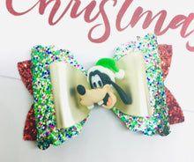 Load image into Gallery viewer, Christmas Friends Goofy bow