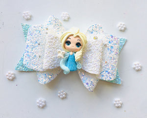 Deluxe Elsa Clay bow