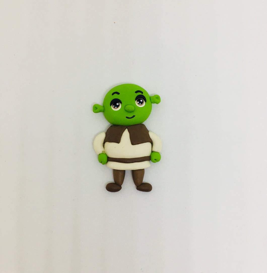 Choose your - Shrek Clay - Bow design