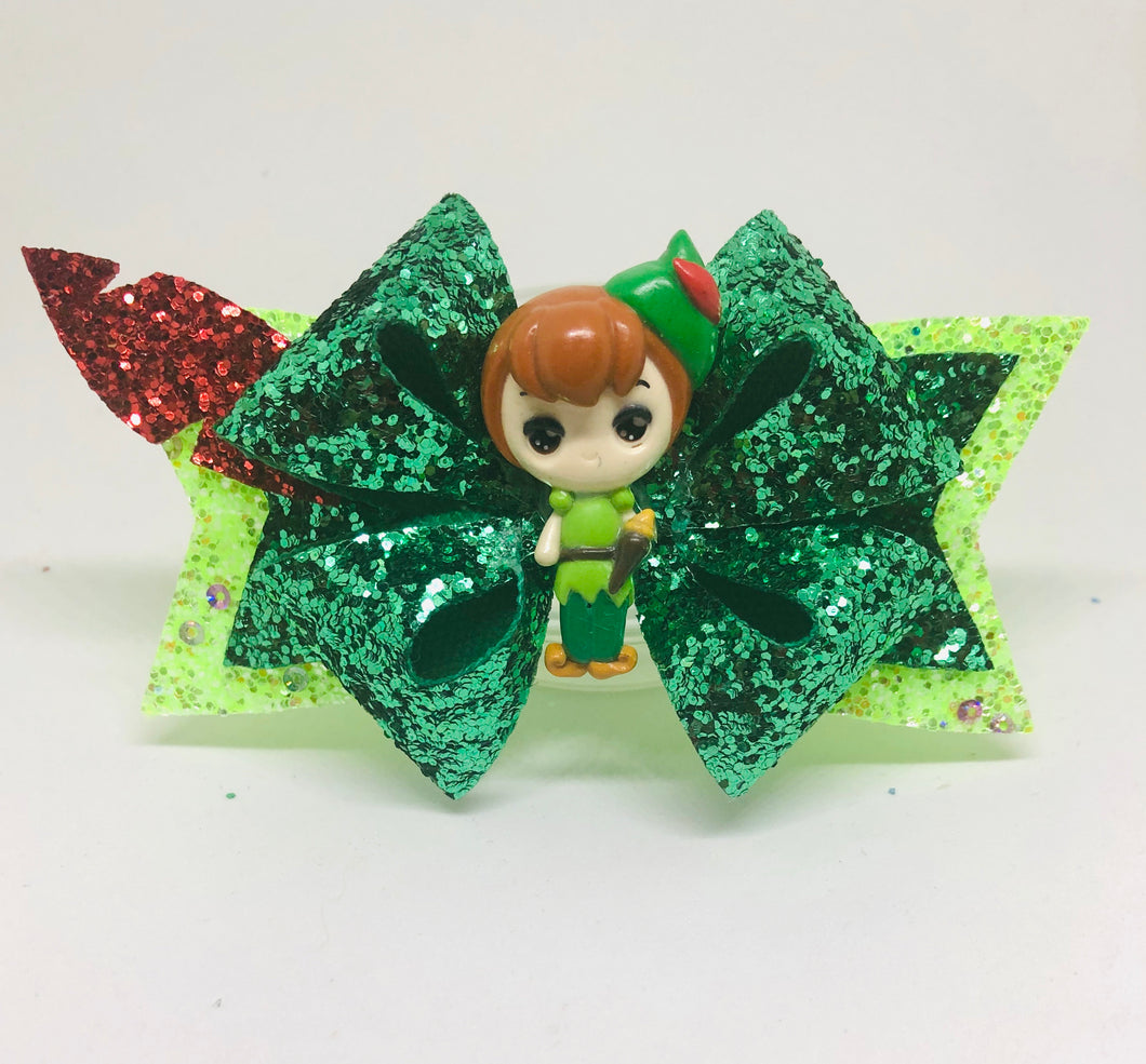 Peter Pan clay Bow