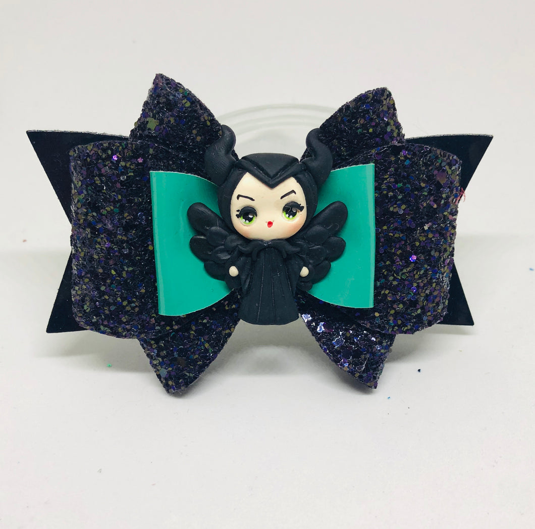 Deluxe Maleficent Villain Clay bow