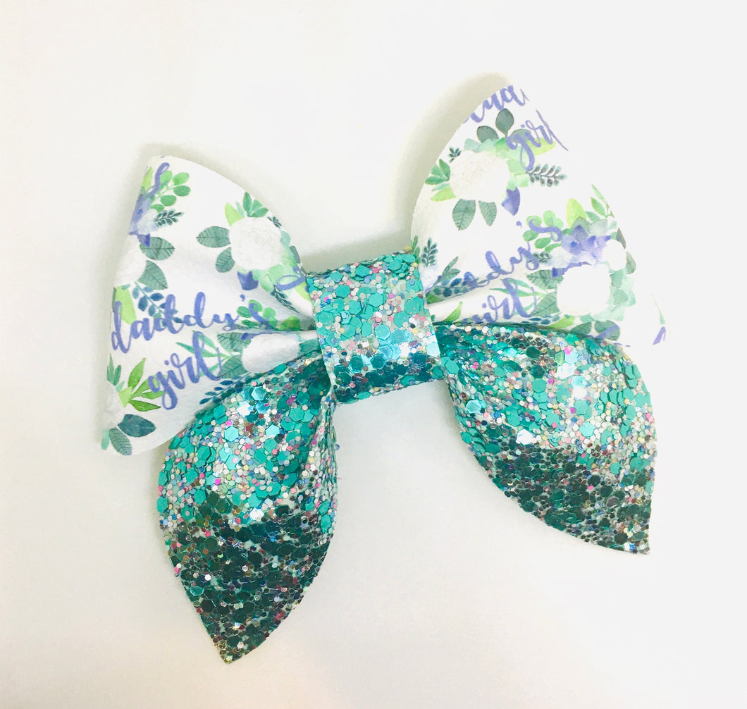 Daddy's Girl Sailor Bow