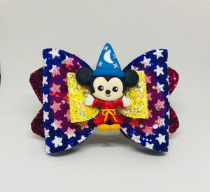 Deluxe Mickey Soccerer bow