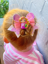 Load image into Gallery viewer, Princess Rapunzel deluxe Fancy Bow