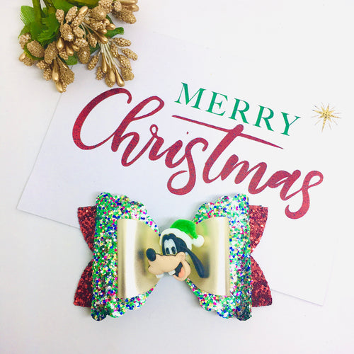 Christmas Friends Goofy bow