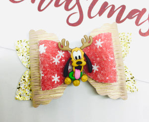Christmas Friends Pluto bow