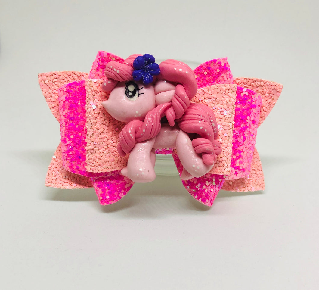 Pony Pinkie Pie Clay Bow
