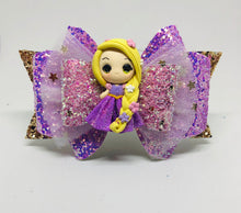 Load image into Gallery viewer, Deluxe Rapunzel Clay bow