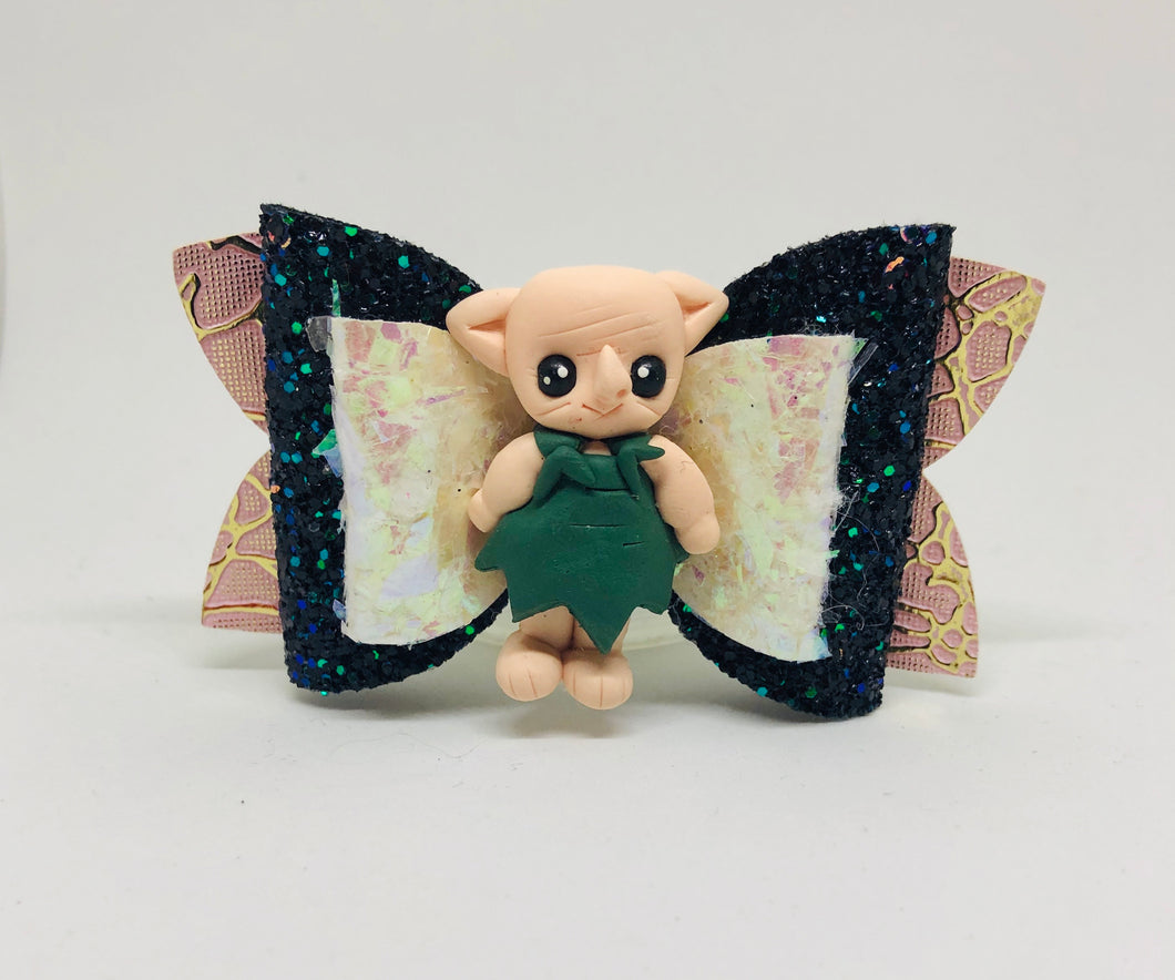Harry Potter Dobby Elf Hogwarts Clay bow