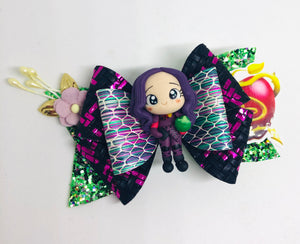 Descendants Mal Dazzle Clay bow