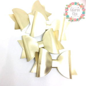 Simple Satin Gold bow
