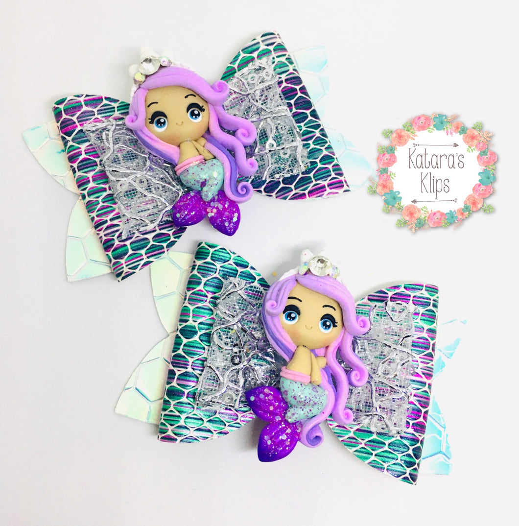 Clay Mermaid Bow