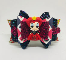 Load image into Gallery viewer, Deluxe Red Queen Villain Clay bow