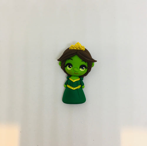 Choose your - princess Shrek Clay - Bow design