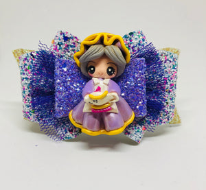 Deluxe Mrs Potts Clay bow