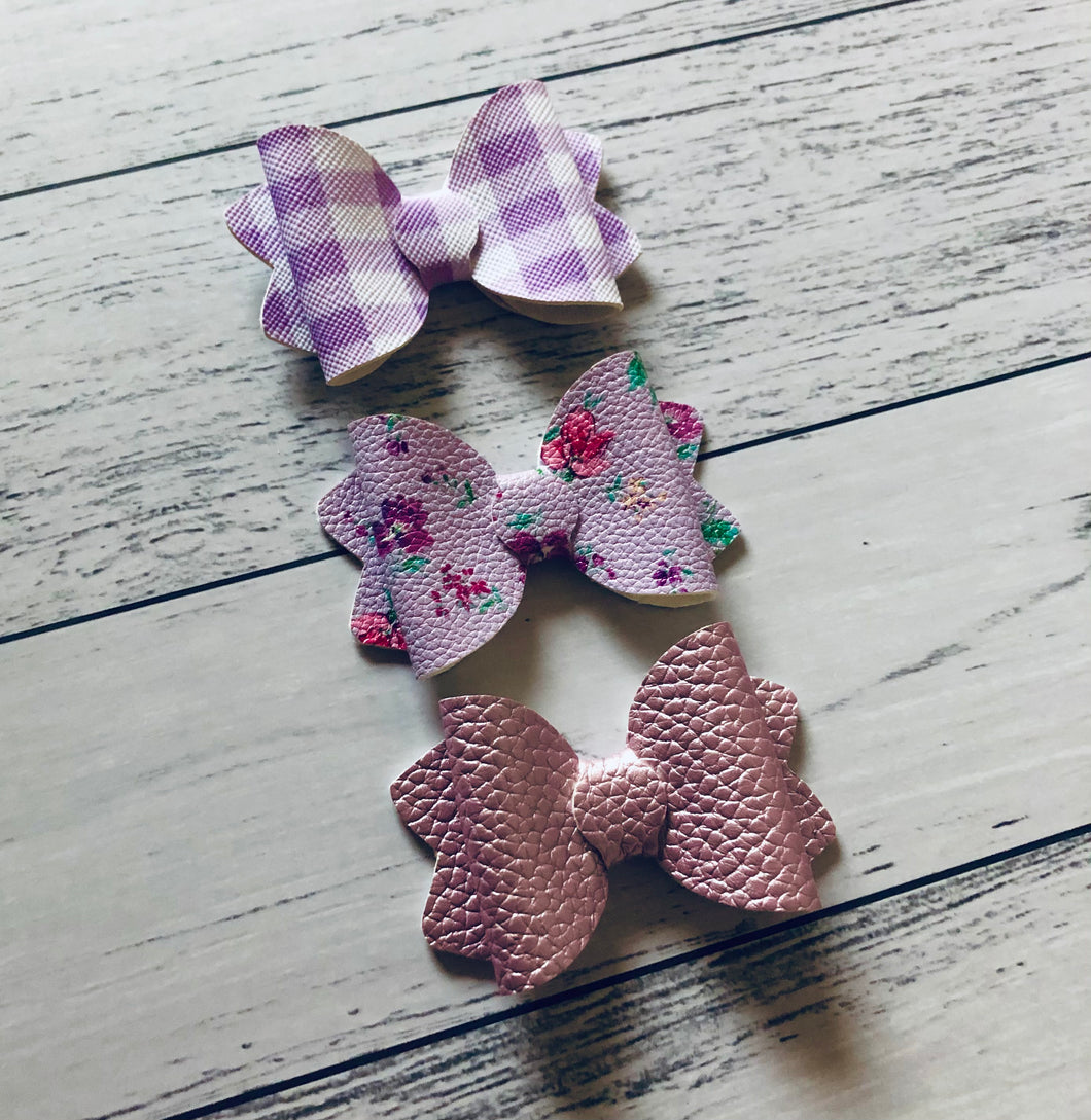 Purple Bow Trio