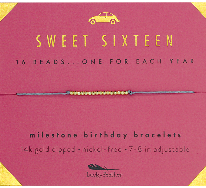 Birthday Bracelet - Sweet Sixteen