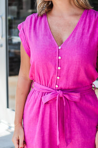 High Neck Cuffed Sleeve Blouse - Taupe