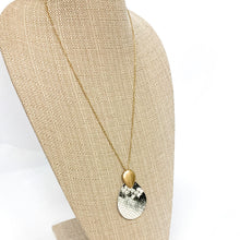 Load image into Gallery viewer, Snakeskin Pendant Necklace
