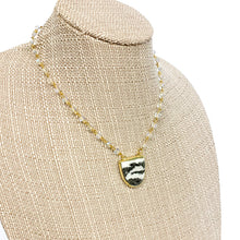 Load image into Gallery viewer, Zebra Stone Necklace